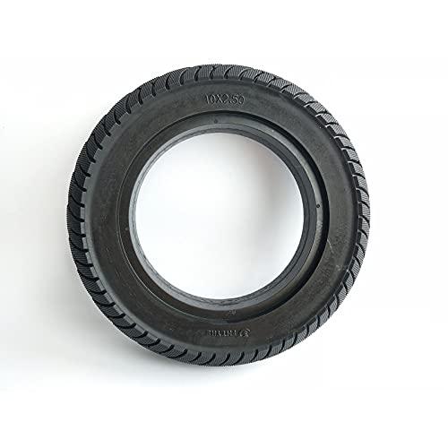 JXINGY Neumático para Scooter Eléctrico, Neumático Sólido de 10 Pulgadas 10x2,5, Goma Gruesa Antideslizante Resistente Al Desgaste, Neumático Sin Mantenimiento Y Resistente a Los Pinchazos