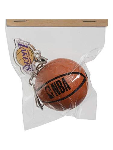 バスケットボール 小物 ボール型キーホルダー LAKERS
