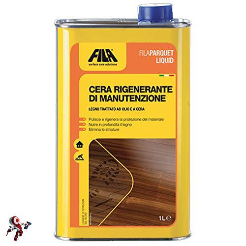 Filaparquet líquido cera regeneradora de mantenimiento 1 litro mantenimiento parquet cera para parquet fila