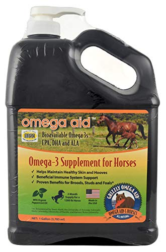 Dogswell, 359045 1 gallon Grizzly Omega Aid for Horses