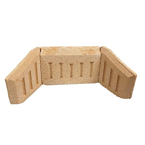 Inglenook Fire Brick Set - Coal & Log Saver 16'