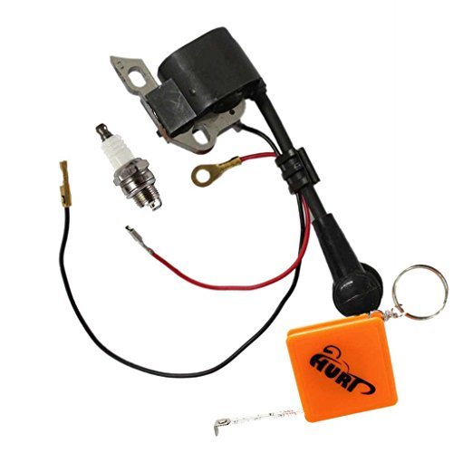 HURI Ignition Coil with Spark Plug for Stihl MS180 MS170 017 018 Chainsaw