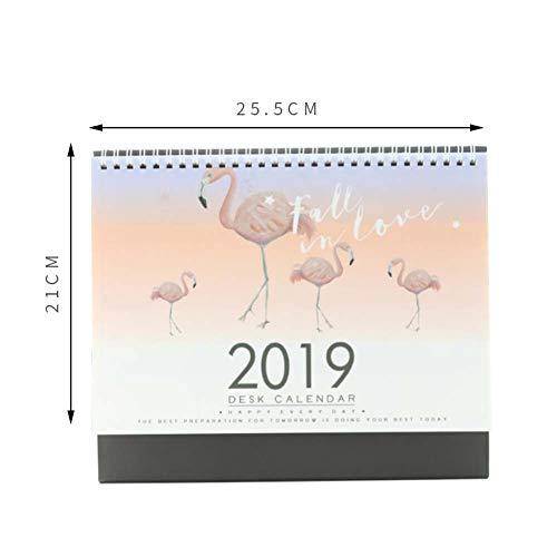 Kalendarz stołowy 2017-2018 rok, notatnik z kreskówkami, kalendarz szkolny/artykuły piśmiennicze, pisklęta