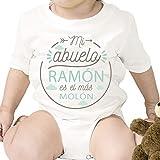 Regalo personalizado: body para bebé 'Abuelo Molón' personalizado con...