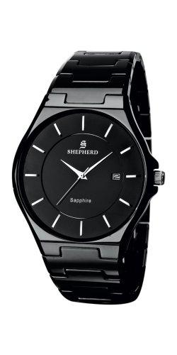 SHEPHERD 60223 Keramik Herren Armbanduhr Quarz