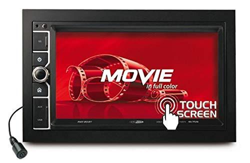 Caliber RMD801BT 2DIN Bluetooth met afstandsbediening incl. inbouwset voor Nissan Micra (K13 Facelift) vanaf 09/2013