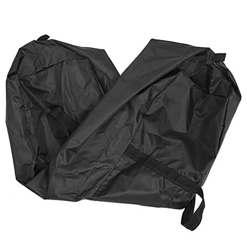 VALICLUD Bolsa De Viagem Conveniente- Resistente Ao Desgaste Leve Duffel Bag (Preto)