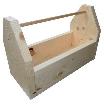 CraftKitsAndSupplies Large Wood Tool Box Kit