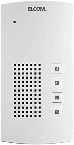 Elcom Freisprech-Haustelefon BFT-200 i2-Bus, Weiss Innenstation für Türkommunikation 4250111811132