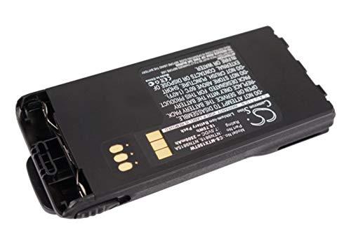 VINTRONS Motorola NNTN7335, NNTN7554, NNTN9858, NTN9815, NTN9815A, NTN9851AR, NTN9851B Replacement Battery for Motorola MT1500, PR1500, XTS1500, XTS2500,