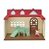 Calico Critters Sweet Raspberry Home Dollhouse Playset with Figure & Furniture Included
