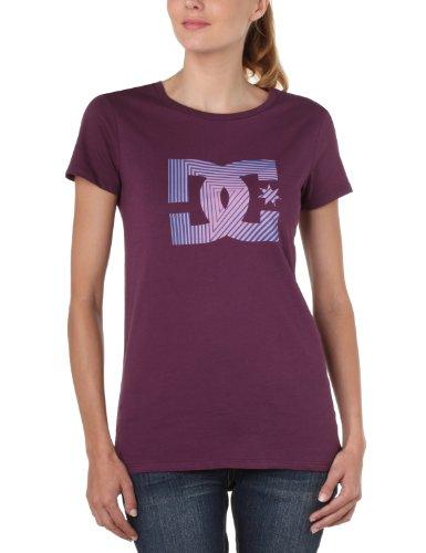 DC Shoes  - Camiseta de Running para Mujer, tamaño S, Color Morado