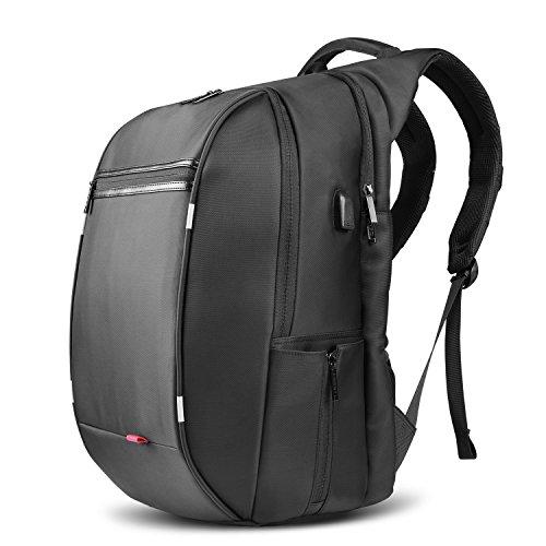SPARIN Mochila para Portátil, Backpack para Laptop15.6 17.3 Pulgadas con [Puerto USB]...