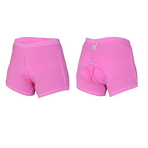 Pantalones de Ciclismo Xcellent Global para Mujer con Interior Acolchado Coolmax (S) S-FS015S