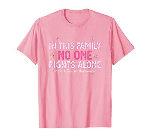 En esta familia nadie lucha solo. Mes de la conciencia del c Camiseta