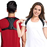 Posture Corrector for Women and Men - Upper Back Brace Straightener Posture Correction for Clavicle Support and Comfortable Posture Trainer - Providng Neck, Back and Shoulder Straight (M)