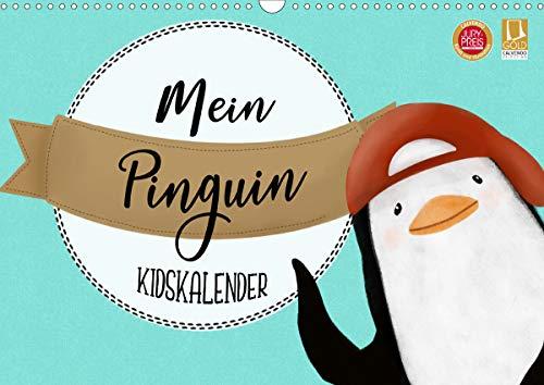 Mein Pinguin Kidskalender (Wandkalender 2021 DIN A3 quer)