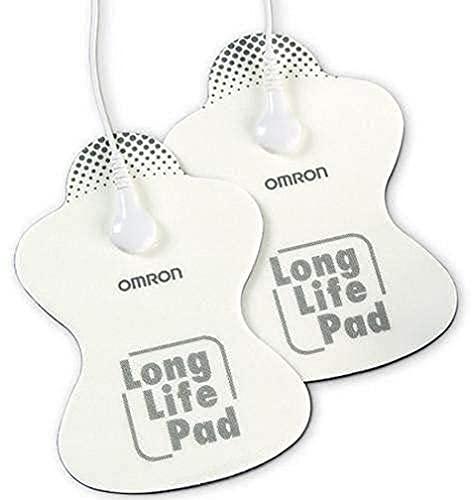 OMRON HV-LLPAD-E Elettrodi di ricambio a lunga durata per dispositivi TENS OMRON E3 Intense, PocketTens...