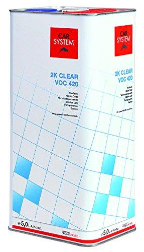 Unbekannt CAR SYSTEM 2K Klarlack Clear VOC 420 1,0 l 144.138