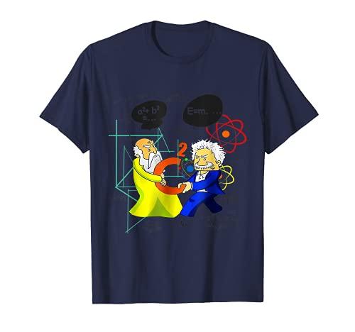 Pythagoras-And-Albert-Einstein T-Shirt