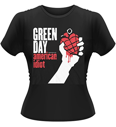 Ladies Green Day American Idiot Punk Rock Oficial Camiseta Mujeres señoras