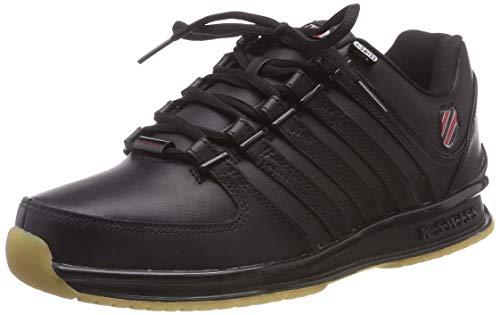 K-Swiss Herren RINZLER SP Sneaker, Schwarz (Black/Red/Gum 081), 43 EU