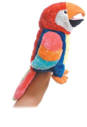 Aurora World Hand Puppet Petey Parrot 12' - 02345
