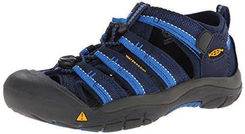 KEEN Big Kid (8-12 Years) Newport H2 Dress Blues/Daphne Sandal - 5 M US Big Kid