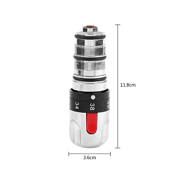 0,1Mpa-0.5Mpa – Grifo de ducha termostático (bobina de repuesto, mezclador de ducha, calentador de agua)