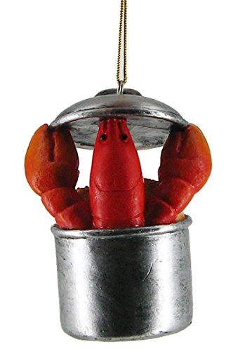 Chesapeake Bay Lobster Pot Hanging Ornament