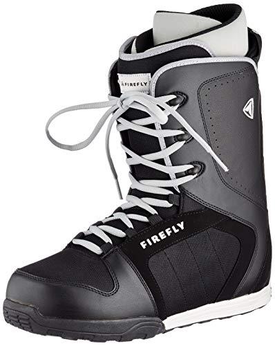 McKINLEY śniegowce C 30 męskie buty zimowe, czarny - Schwarz Black White - 30.5 EU