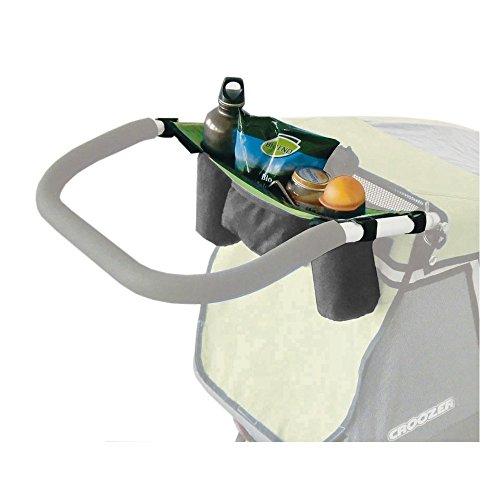 Croozer Unisex– Erwachsene Trinkflaschentasche-3092025601 Trinkflaschentasche, Grau, One Size