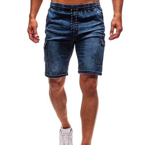 Shorts in Cotone Moda Uomo Pantaloni Corti Amlaiworld M~XXXL