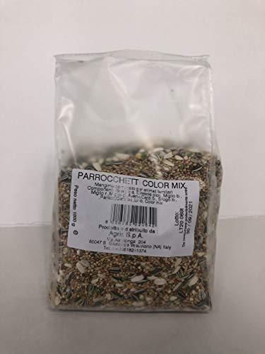 Agria Bird periquitos Color Mix Alimento vitaminado para periquitos, 1 kg