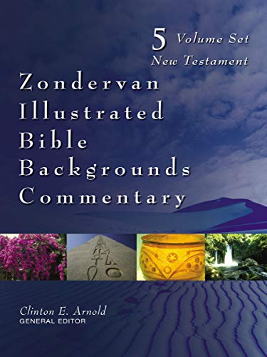 Zondervan Illustrated Bible Backgrounds Commentary Set
