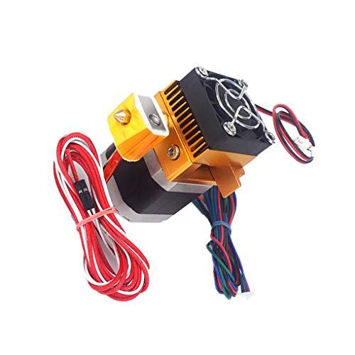 teng hong hui Replacement for MakerBot Prusa i3 Reprap 3D MK8 extruder 3D printer Printer Assembled MK8 Extruder 0.4mm Print Nozzle Hotend