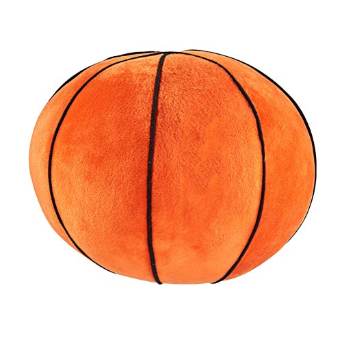 LIOOBO 1pc 22 cm Simulación de Baloncesto Pelota de Juguete Peluche de Baloncesto para los Regalos de cumpleaños - -