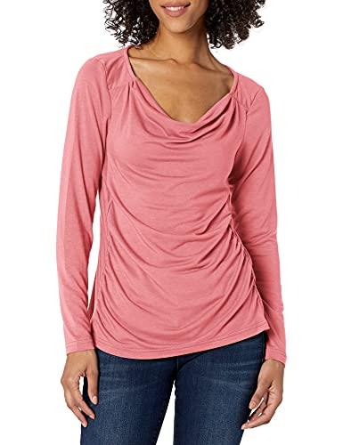 Royal Robbins T-Shirt à col Rond pour Femme - Rose - Large