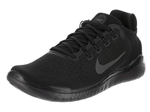 Nike Mens Free RN 2018 Running Sneakers Black/Anthracite (7.5 D(M) US)