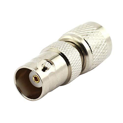 Es una elección BNC Hembra al Mini UHF Conector Macho Adaptador coaxial de RF