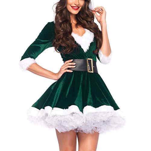 QINQI Disfraces NavideñOs Mujer Disfraces NavideñOs Disfraces NavideñOs Disfraces NavideñOs Vestidos