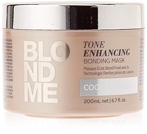 Schwarzkopf Professional BlondMe Tone Enhancing Bonding Mask, 1er Pack (1 x 200 ml)
