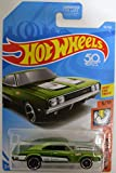 Hot Wheels '69 Dodge Charger 500 Green HW Muscle Mania Series 1:64 Scale Collectible Die Cast Model Car