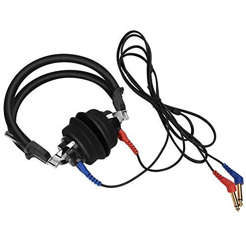 Fishawk Audiómetro de Prueba de audición Auriculares, probador de audición, audiómetro de conducción de Aire para escuelas de manejo Tiendas de audífonos Clínicas de audición