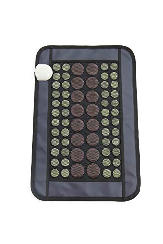 Far Infrared Heating Pads, Large Flat Tourmaline Stones for More Heat, Deep Back Pain...