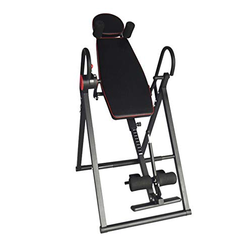 Find Bargain Gravity Heavy Duty Inversion Table,Inversion Table Foldable,Back Stretcher Machine with...