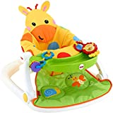 Fisher-Price Sit-Me-Up Floor Seat with Tray, Giraffe by Fisher-Price
