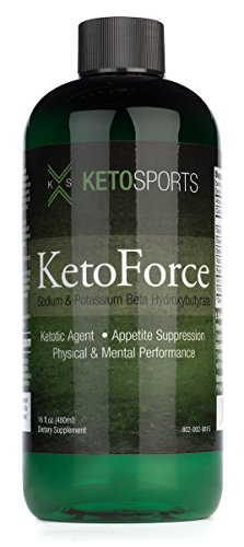 KetoSports KetoForce Dietary Supplement, 16 Fluid Ounce