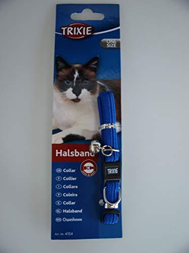 Trixie 4154 Katzenhalsband, elastisch, Nylon