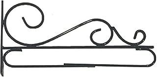 Custom Decor Decorative Garden Flag Wall/Post Bracket - Wrought Iron